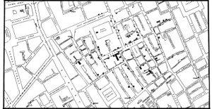 La historia de un mapa, un anestesista y un reverendo que revolucionaron la epidemiología